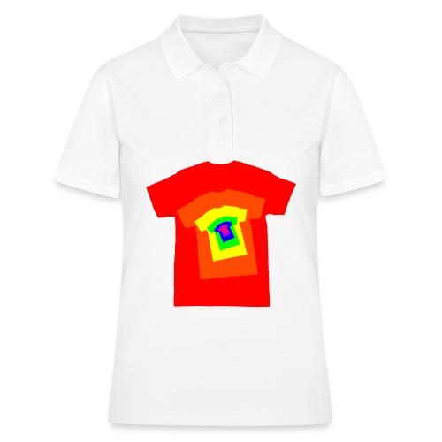 Rainbow T Shirt Spiral - Women's Polo Shirt