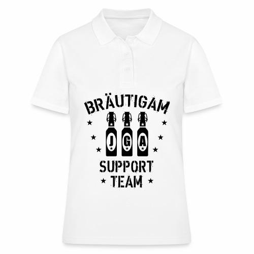 03 JGA Bierflaschen Bräutigam Support Team - Frauen Polo Shirt