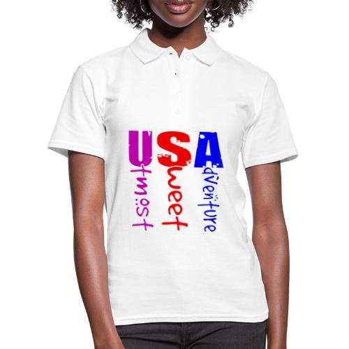 USA-Utmost Sweet Adventure - Women's Polo Shirt