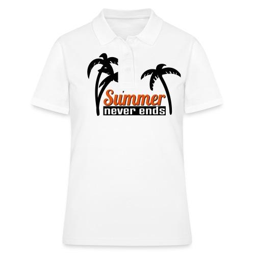 summer never end - Frauen Polo Shirt