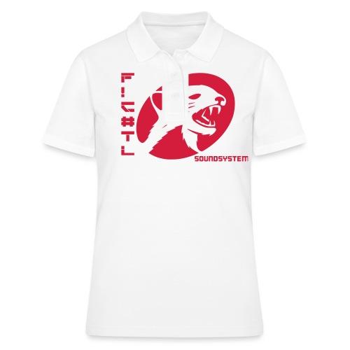 F!€#TL Soundsystem Rot - Frauen Polo Shirt