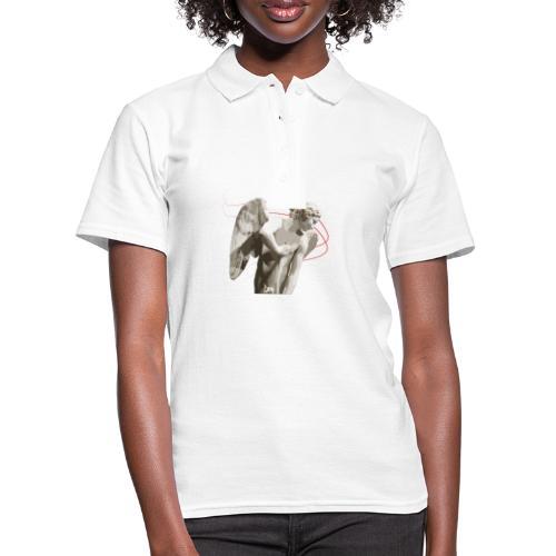 Angelo custode 2. Oggetti con arte. - Women's Polo Shirt