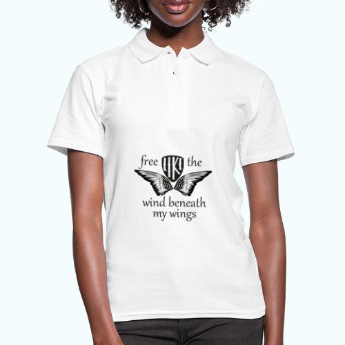 Free like the wind beneath my wings - Women's Polo Shirt