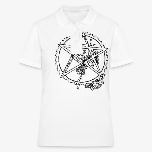 Flowergram - Women's Polo Shirt