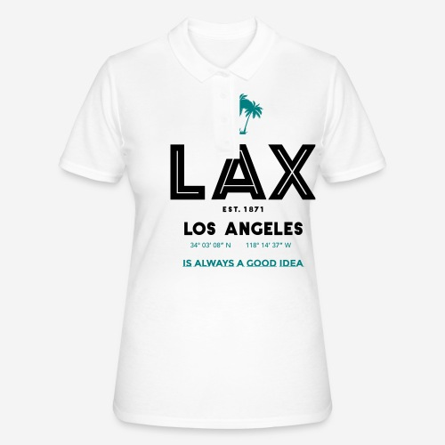 LAX è una buona idea!! - Women's Polo Shirt
