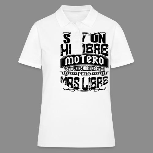 Soy un hombre motero - Women's Polo Shirt