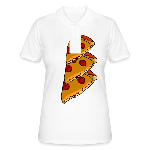 pizza - Poloshirt dame