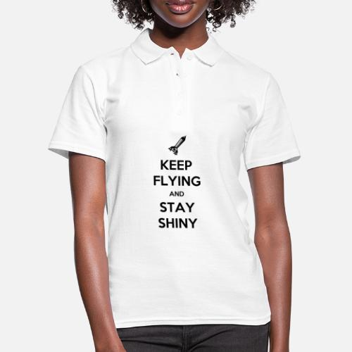 Keep Flying and Stay Shiny - Women's Polo Shirt