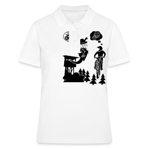 Biker vs. Hunter - Frauen Polo Shirt