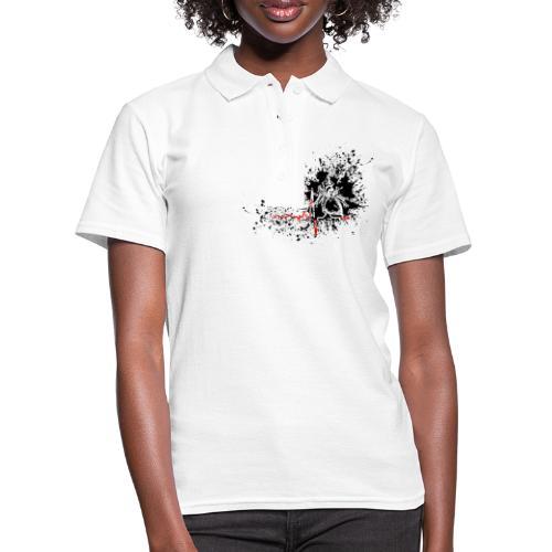 Trash polka ECG - Women's Polo Shirt