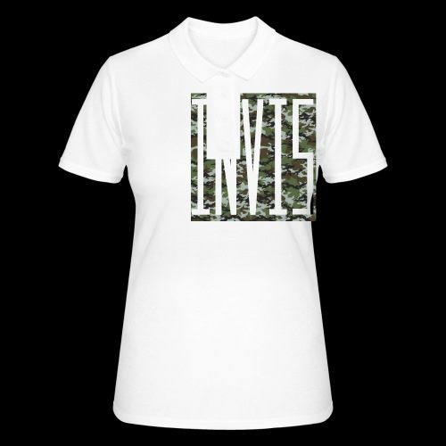 INVIS Camouflage - Frauen Polo Shirt