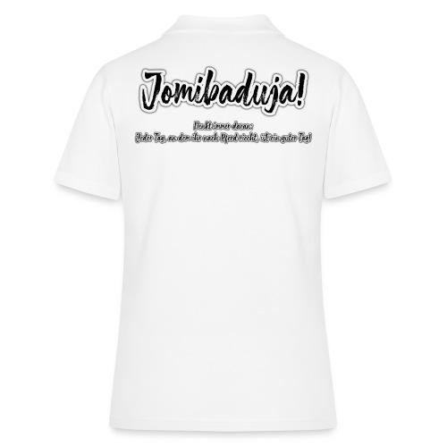 Jomibaduja_Shirt_Front_Sp - Frauen Polo Shirt