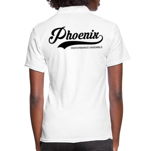 Phoenix Retro Black - Frauen Polo Shirt