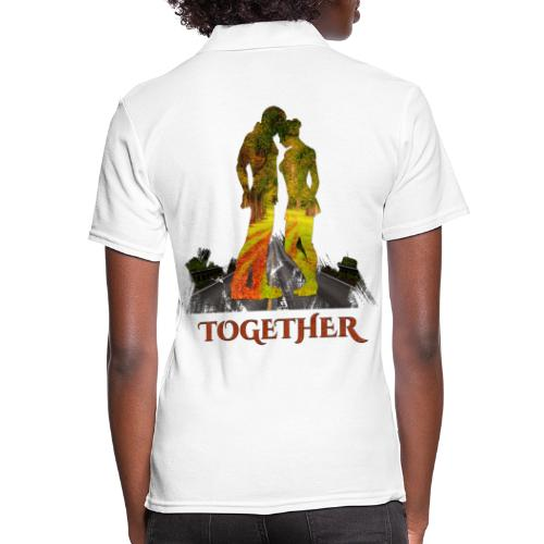 Together -by- T-shirt chic et choc - Polo Femme