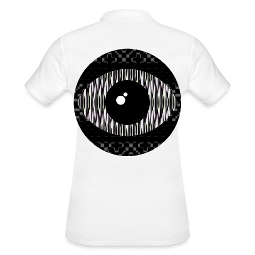 svart konstigt öga - Women's Polo Shirt