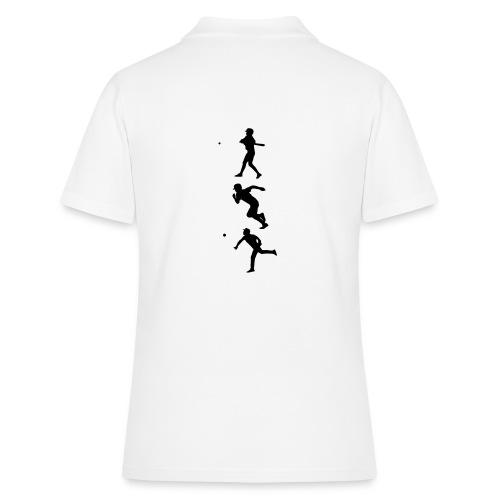 Hit Run Throw + Logo Arm - Frauen Polo Shirt