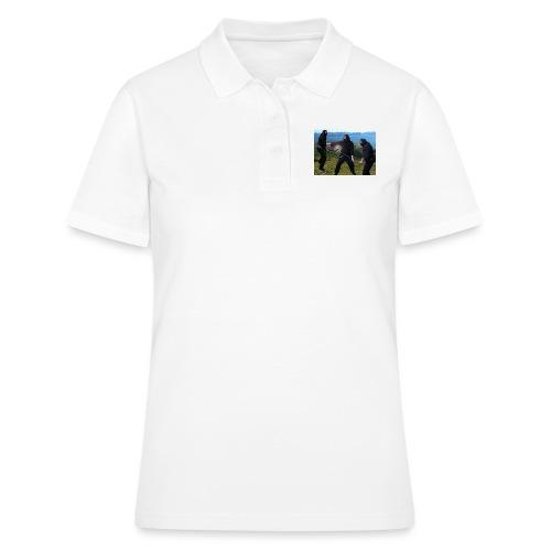 Chasvag ninja - Poloskjorte for kvinner