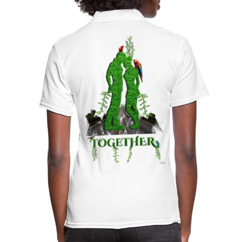 Together love nature by T-shirt chic et choc - Polo Femme