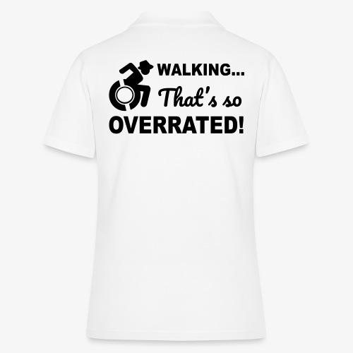 Lopen is zo overgewaardeerd 004 - Women's Polo Shirt