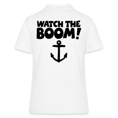 WATCH THE BOOM - Segel Segeln Segler - Frauen Polo Shirt