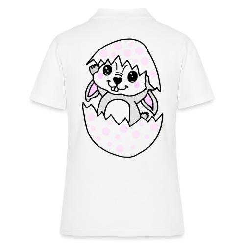 Osterhäschen OSTERN Hase Osterhase - Frauen Polo Shirt