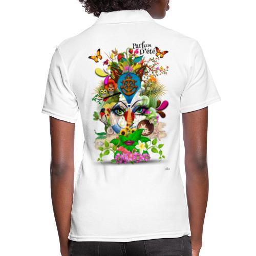 Parfum d'été by T-shirt chic et choc - Polo Femme