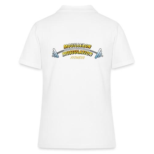mouilleron muscu logo pour tee shirt 311 - Polo Femme