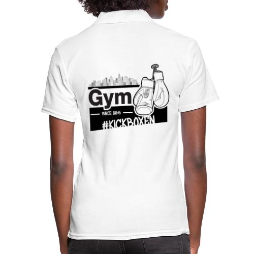 Gym in Druckfarbe schwarz - Frauen Polo Shirt