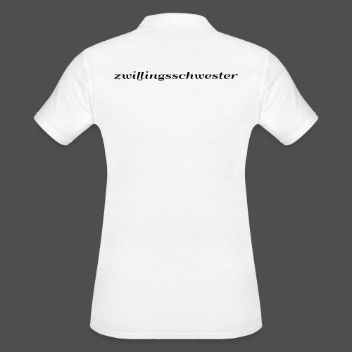 twin sister - Women's Polo Shirt