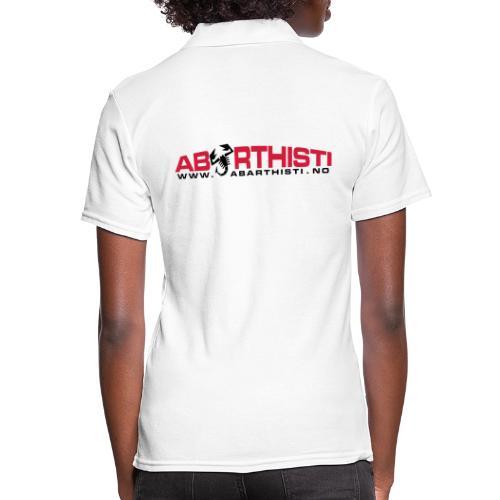 abarthlogored - Women's Polo Shirt