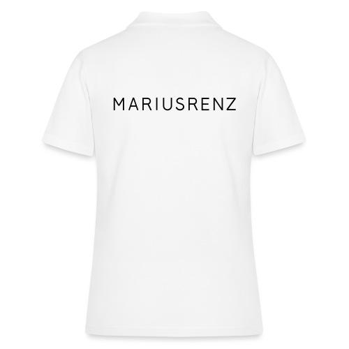Marius Renz Schrift - Frauen Polo Shirt