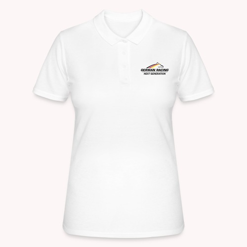 German Racing Next Generation Logo - Frauen Polo Shirt