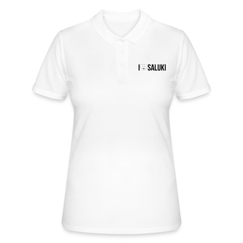 I Love Saluki - Women's Polo Shirt
