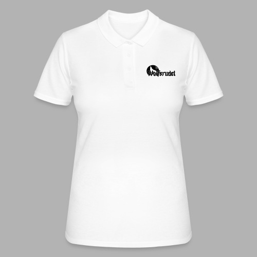 Logo Wolfsrudel EPS - Frauen Polo Shirt