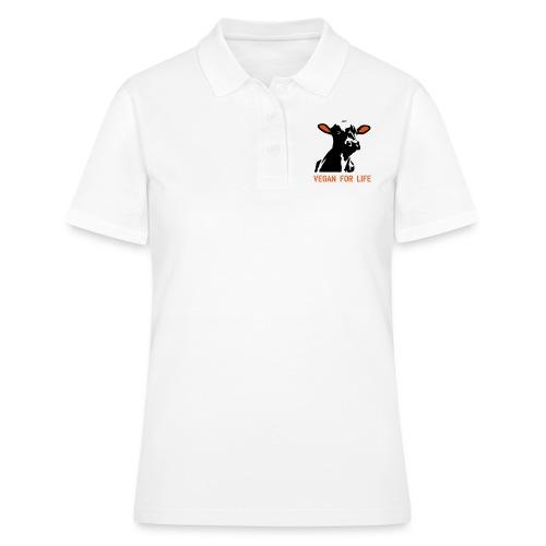 colorida vegan for life - Frauen Polo Shirt