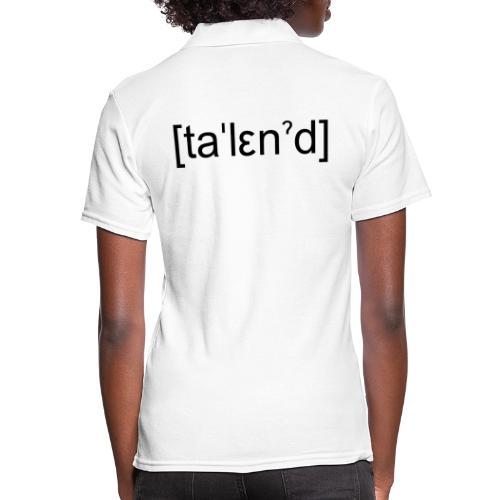 Talent - Poloshirt dame