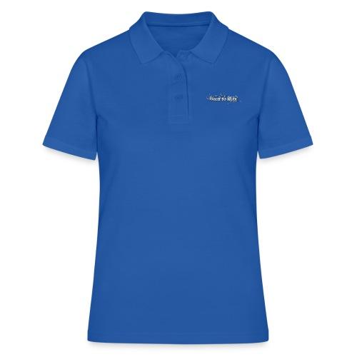 Born-to-RUN---Logo---White.png - Frauen Polo Shirt