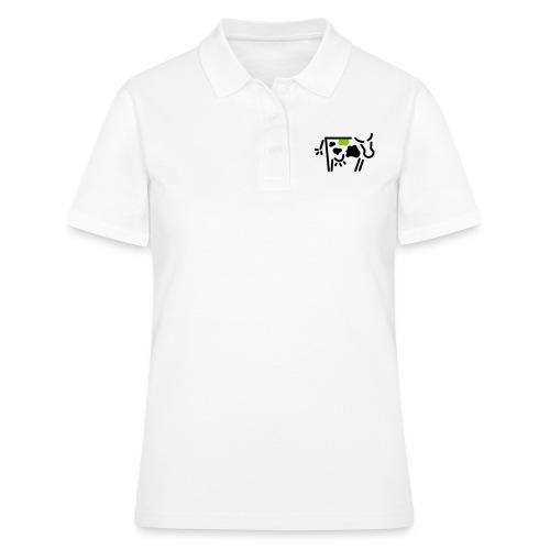 kuh vadis Logo - Frauen Polo Shirt