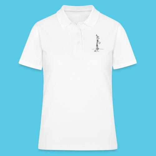 der erste Haken - Frauen Polo Shirt