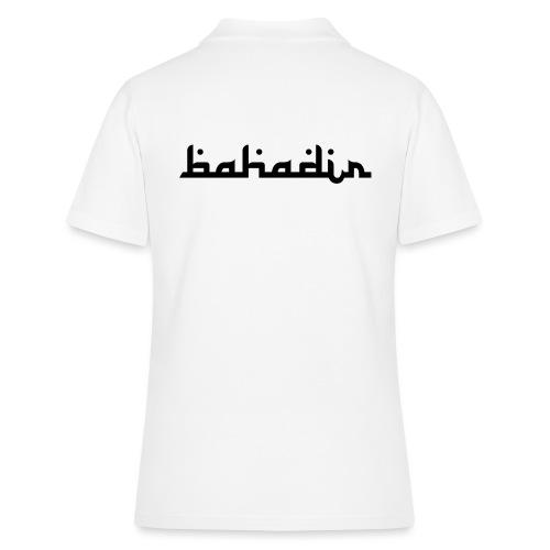 bahadir logo1 png - Frauen Polo Shirt