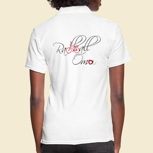 Radball | Oma - Frauen Polo Shirt