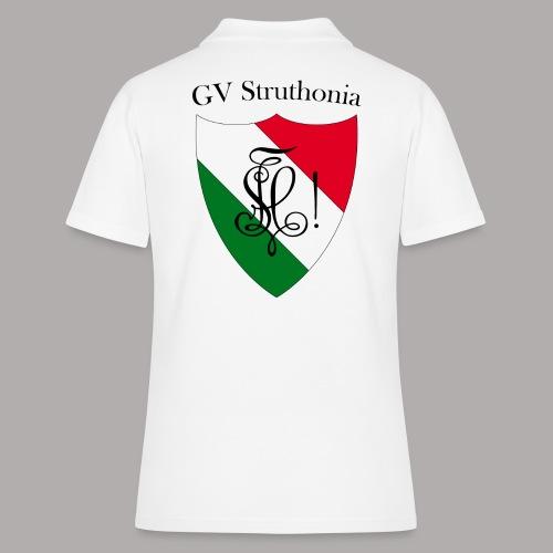 Wappen Struthonia beschriftet - Frauen Polo Shirt