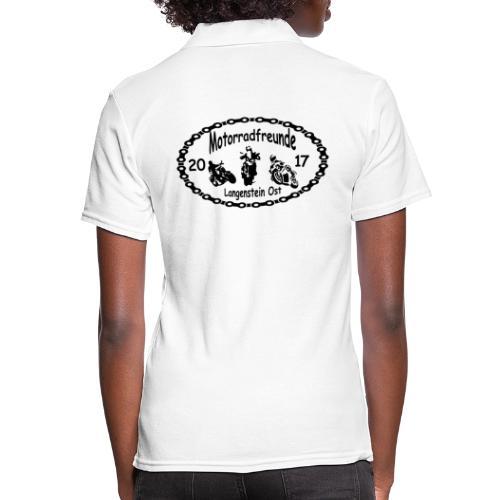 Motorradfreunde schwarz - Frauen Polo Shirt