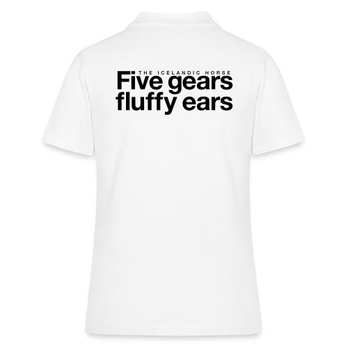 Five gears fluffy ears - Women's Polo Shirt