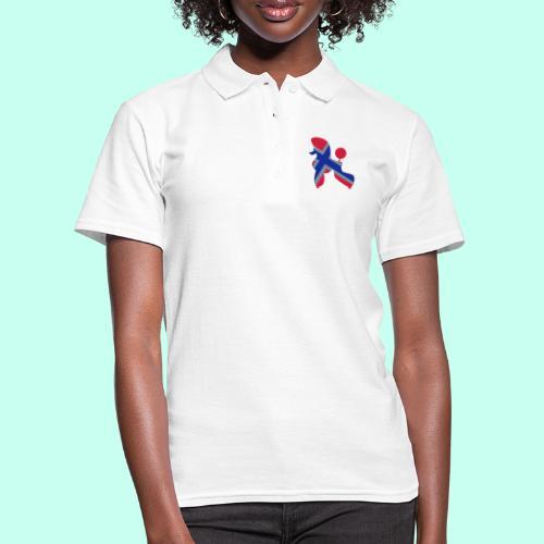 Pudel Poodle - Frauen Polo Shirt