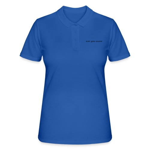 Slogan png - Poloshirt dame