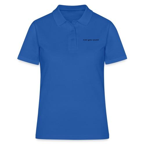 Slogan png - Women's Polo Shirt