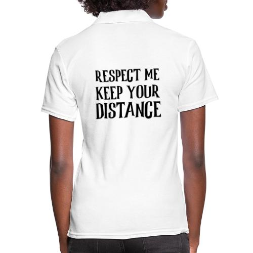 Keep Distance - Poloshirt dame