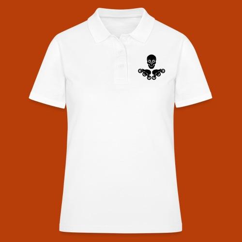 Skull + Skates 125mm - Frauen Polo Shirt
