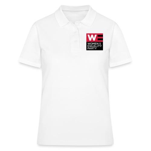 WE_LOGO_RED_CMYK - Women's Polo Shirt